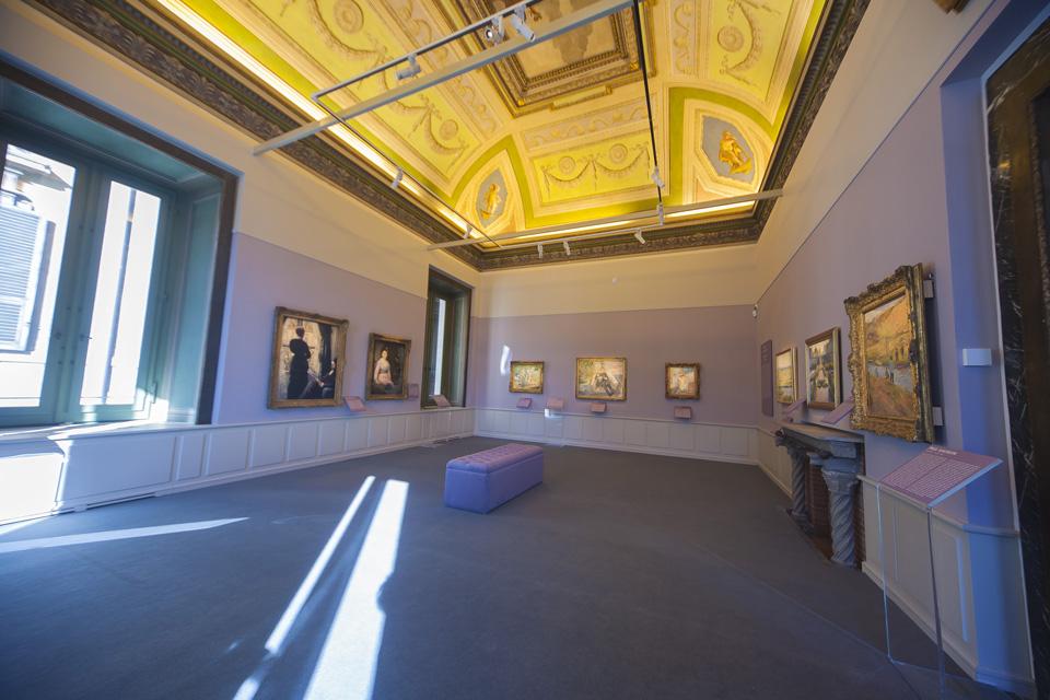 IMPRESSIONISTI SEGRETI<br>e la musealizzazione di Palazzo Bonaparte