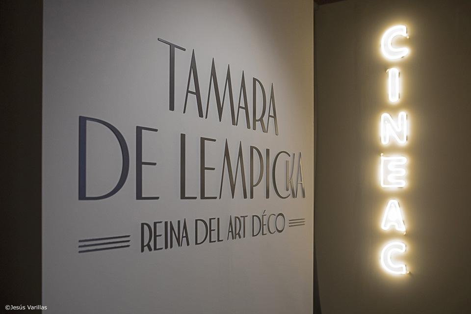 TAMARA DE LEMPICKA<br>Reina del art déco